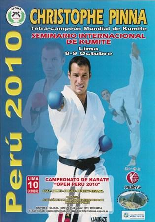 CURSO INTERNACIONAL DE KUMITE - POR CHRISTOPHE PINNA (Competidor Francés Tetra-Campeón Mundial de Kumite)