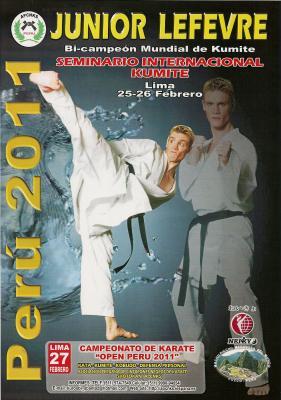 XIV SEMINARIO INTERNACIONAL DE KUMITE POR: JUNIOR LEFEVRE (Campeón Mundial de Kumite)