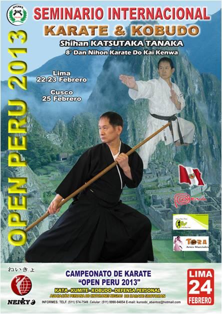 """Seminario Internacional de Karate & Kobudo"""